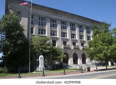 DURHAM, NORTH CAROLINA - May 2014: Durham County Court House