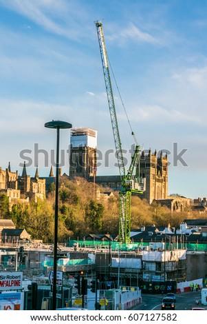 Durham U K 21st March 2017 Stock Photo Edit Now 607127582