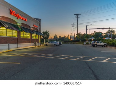 Durham,North Carolina - Sep 2018 - Walgreens Store