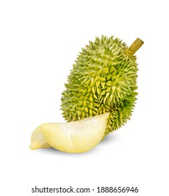 Durian isolated on a white background
