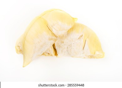 Durian The King of Fruits on white background