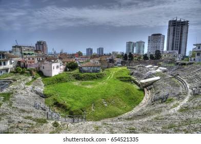 Durres, a city in Albania
