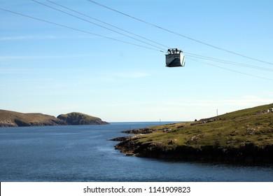 Dursey Island Cable Car, West Cork Ireland