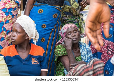 Durumi/Abuja/Nigeria/14.Apr.2018: Women living in the wooden makeshift place of Internally Displaced Persons in Abuja, the Federal Capital of Nigeria.