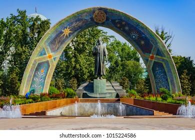 Dushanbe, capital of Tadjikistan