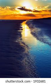Dusk on Hilton Head beach. More with keyword group12b
