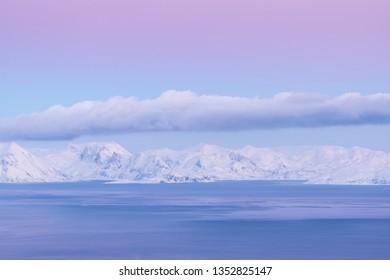 Dusk, Seiland Island, Finnmark, Norway