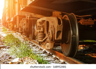 Dusk, train.