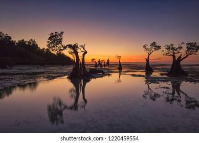 Dusk at Walakiri Beach, Sumba Island, Indonesia