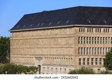 Dusseldorf city, Germany. Mannesmann-Haus historic building in Carlstadt district of Dusseldorf. - Shutterstock ID 1932602042