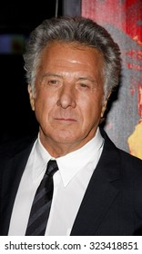 """Dustin Hoffman at the Los Angeles premiere of HBO's """"Luck"""" held at the Grauman's Chinese Theatre in Hollywood, USA on January 25, 2012."""