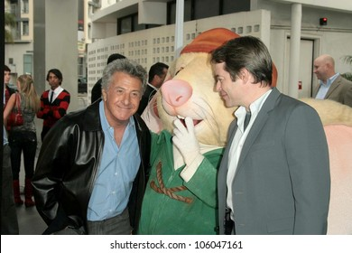 Dustin Hoffman and Matthew Broderick   at the World Premiere of 'The Tale of Despereaux'. Arclight Hollywood, Hollywood, CA. 12-07-08