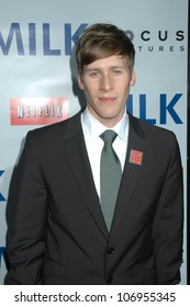 Dustin Lance Black  at the Los Angeles Premiere of 'Milk'. Academy of Motion Pictures Arts And Sciences, Beverly Hills, CA. 11-13-08