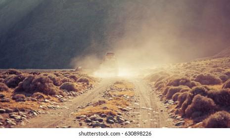 Dusty 4x4 off road adventure