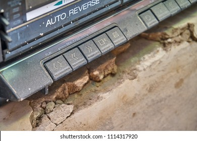 Dusty old cassette player