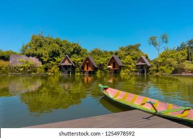 Dusun Bambu, Bandung, West Java, Indonesia.