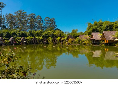Dusun Bambu, Family Leisure Park in Lembang, Bandung, West Java, Indonesia