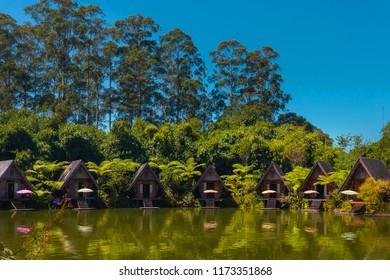 Dusun Bambu in the morning, Bandung