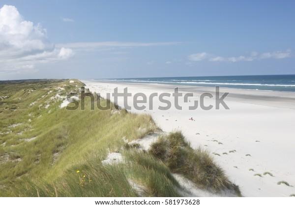 Dutch beach.