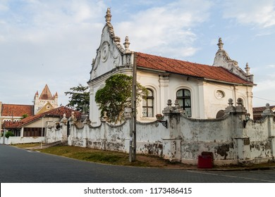 Dutch church in Galle Fort, Sri Lanka