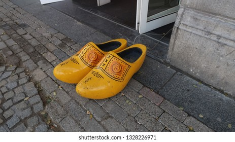 Dutch clogs wooden shoes