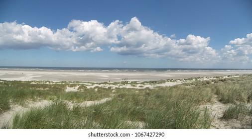 Dutch coast panorama