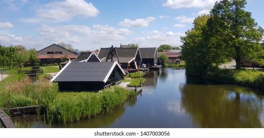 Dutch historic landscape rural village