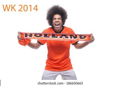 Dutch orange fan