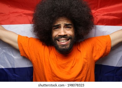 Dutch soccer fan