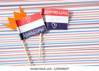 Dutch traditional festival. Kings day - Koningsdag