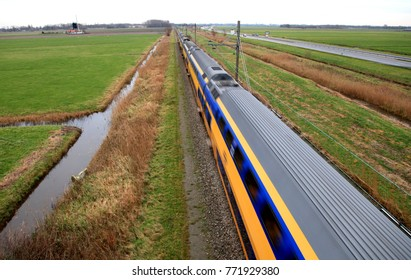 Dutch Train Motion Blur