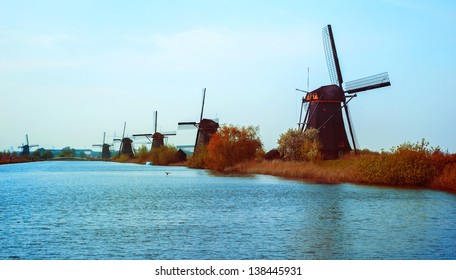dutch typical landscape