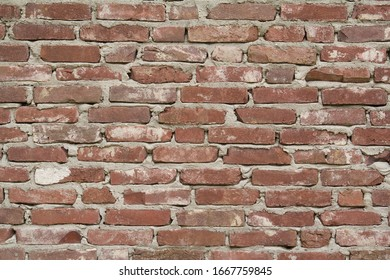 Dutch Wall with brick structure