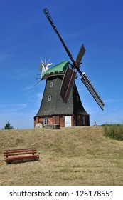 Dutch Windmill at Stove north east Germany