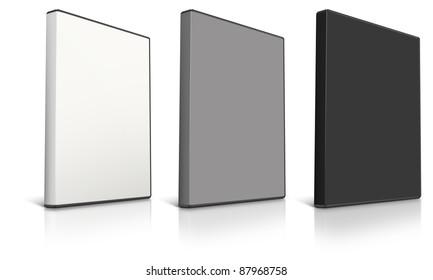 DVD Case on white