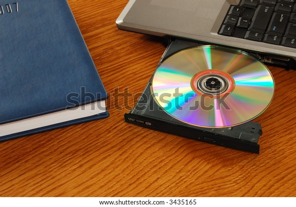 DVD drive and organizer
