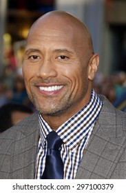 """Dwayne Johnson at the Los Angeles premiere of """"Hercules"""" held at the TCL Chinese Theatre in Los Angeles on July 23, 2014 in Los Angeles, California."""