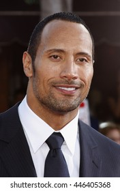 Dwayne Johnson at the World premiere of 'Get Smart' held at the Mann Village Theater in Westwood, USA on June 16, 2008.