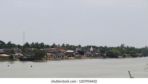 Dwellings in Sundarbans national park, famous for Royal Bengal Tiger