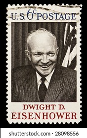 Dwight D. Eisenhower 34th President of the United States (1953?1961).  Issued in 1969