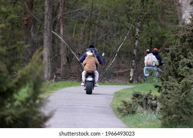 Dwingelderveld, The Netherlands- March 2, 2021: Spyder Wheelz in Dwingelderveld, The Netherlands