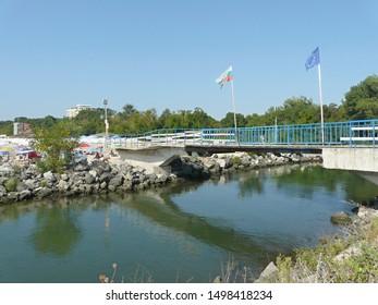 Dyavolska River bridge in Primorsko, Bulgaria - Shutterstock ID 1498418234