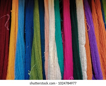 Dyed cotton is a beautiful color.