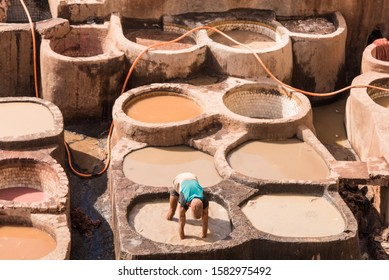 Dyes, Shuara, Fes, Morocco, Africa, North Africa