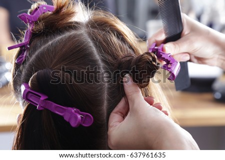 Dying Gray Hair Roots Stock Photo (Edit Now) 637961635 - Shutterstock