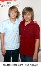 Dylan Sprouse and Cole Sprouse  at Camp Ronald McDonald's 16th Annual Family Halloween Carnival. Universal Studios, Universal City, CA. 10-26-08