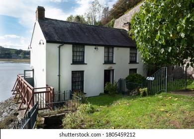 Dylan Thomas Boathouse, Laugharne, Carmarthenshire