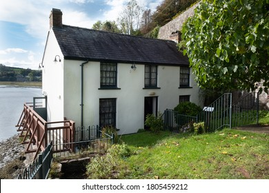 Dylan Thomas Boathouse, Laurgharne, Carmarthenshire