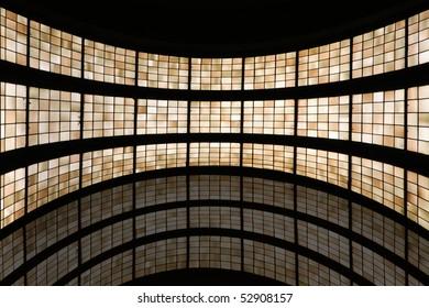 dynamic colorful windows