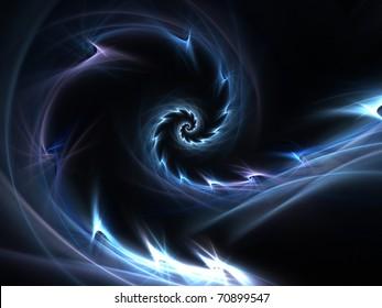 Dynamic electric spiral design